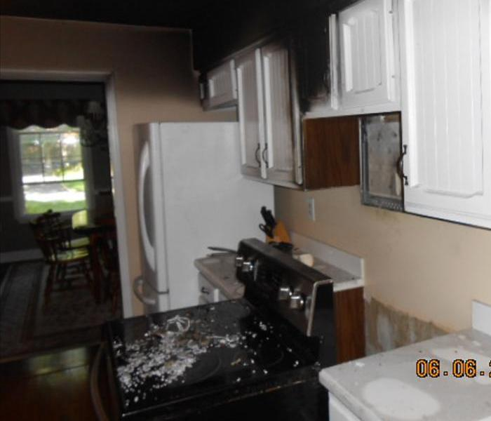 Kitchen Fire in Taberancle, NJ Before
