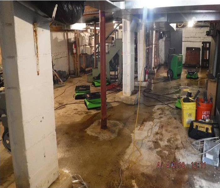Commercial Water Damage in South Hampton  After