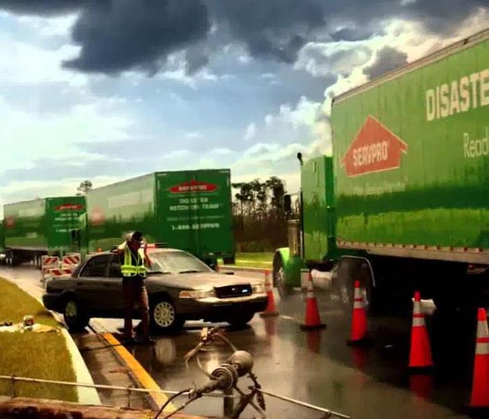 Storm Damage SERVPRO Disaster recovery